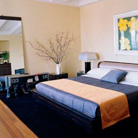 bedroom | bedroom design idea | celebrity home | John Mayer Elle Decor