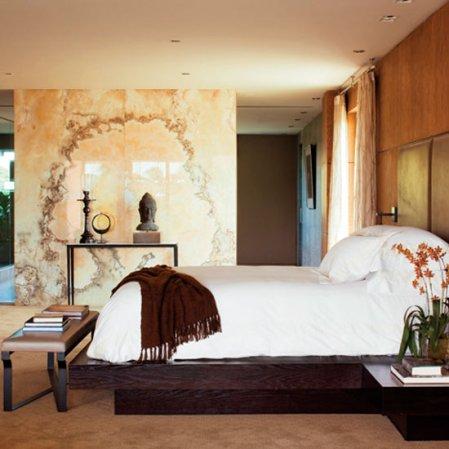 bedroom | Michael Bay house tour | Transformers 3 | Elle Decor