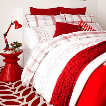 bedroom | christmas decorating ideas | christmas | Marks and Spencer | image | Roomenvy