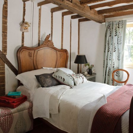 bedroom design idea | country decorating ideas | country-style | Country Homes & Interiors