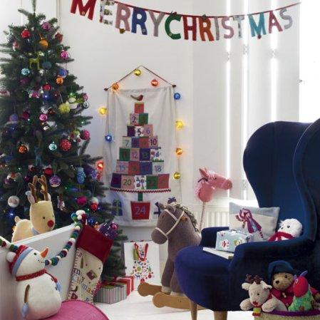 Children's room | Christmas | Christmas decorating ideas | John Lewis | image | Roomenvy
