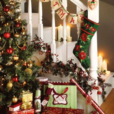 Christmas hallway decorations | Christmas | Christmas decorating ideas | Jane Asher | Matalan