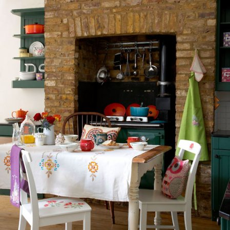 dining room | country craft ideas | Country Homes & Interiors | image | roomenvy