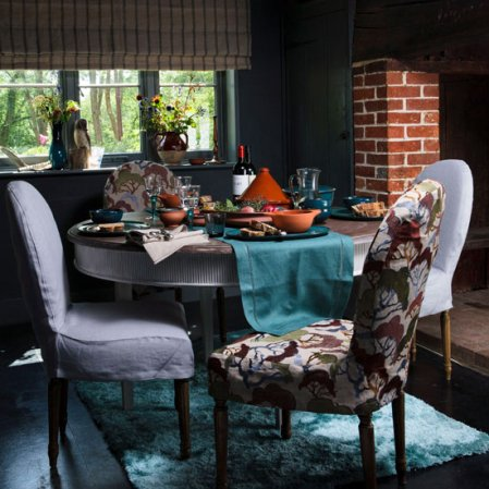 dining room | country decorating ideas | country-style | Country Homes & Interiors.jpg