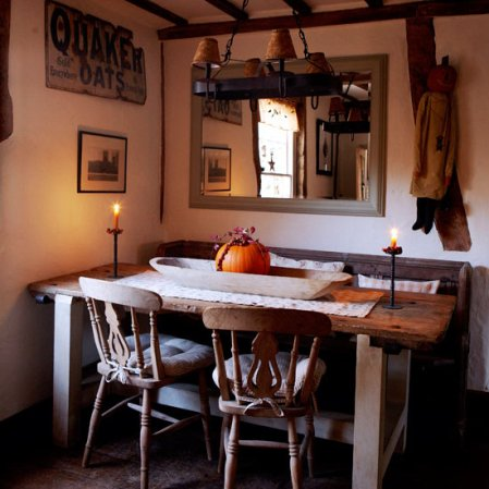 dining room | halloween | halloween decorating ideas | country homes & interiors