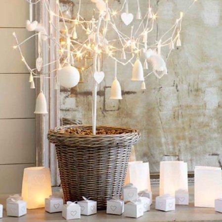 Festive mantelpiece | Christmas | Christmas decorating ideas | The White Company