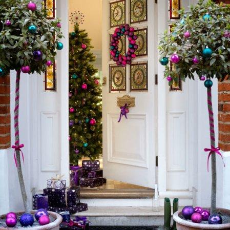 hallway | christmas | christmas decorating ideas | Asda | Roomenvy