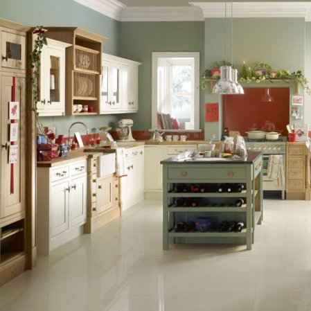 The granite gurus decorating your kitchen for christmas for Kitchen ideas john lewis