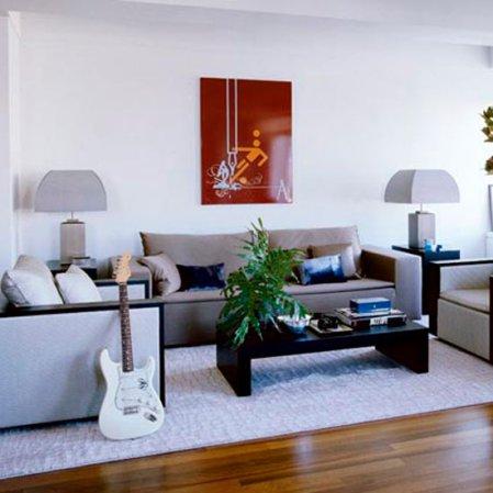 living room | living room decorating ideas | celebrity home | John Mayer Elle Decor