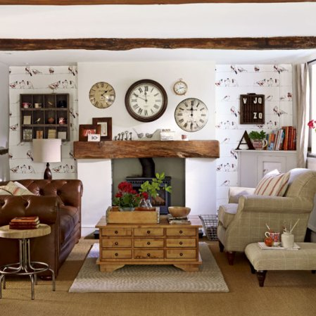 living room | living room design ideas | country decorating ideas | Ideal Home