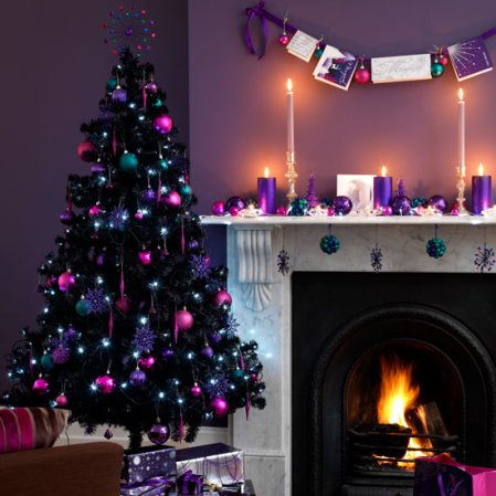 living room | christmas | christmas decorating ideas | Asda | Roomenvy