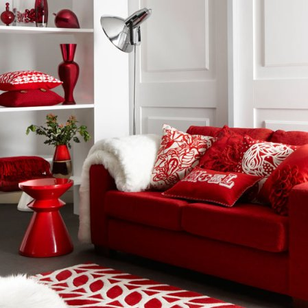 living room | christmas decorating ideas | christmas | Marks and Spencer | image | Roomenvy