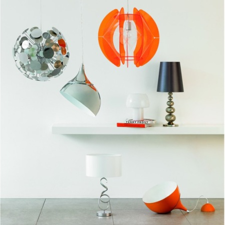 Tangerine range lighting - Bhs - roomenvy
