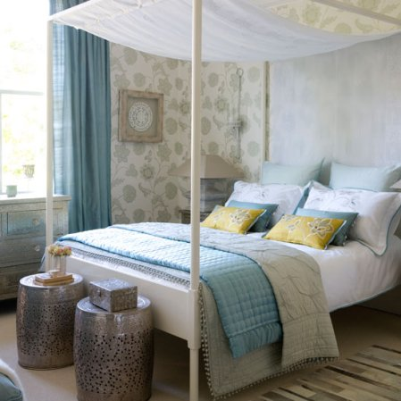 calming bedroom | bedroom design ideas | Ideal Home