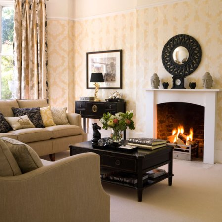 calming living room |living room decorating ideas | Ideal Home