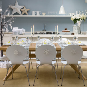 christmas dining room | christmas | easy christmas ideas | livingetc | roomenvy