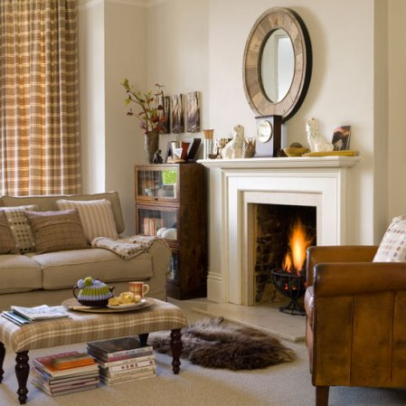 living room | winter decorating ideas | decorating | Ideal Home | Roomenvy