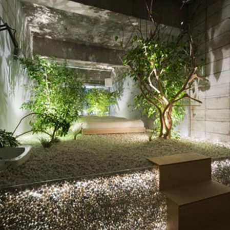 Buried room LLOVE Hotel by Yuko Nagayama - Design Milk - roomenvy