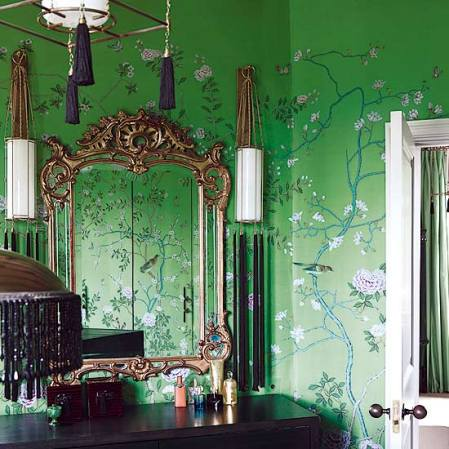 roomenvy - hand-painted Chinese wallpaper