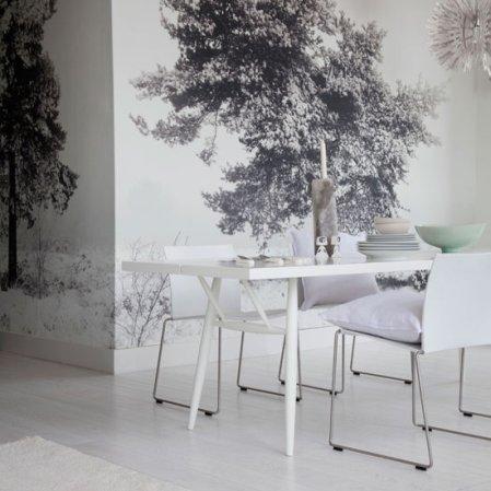 white dining room | dining room design ideas | Livingetc | roomenvy