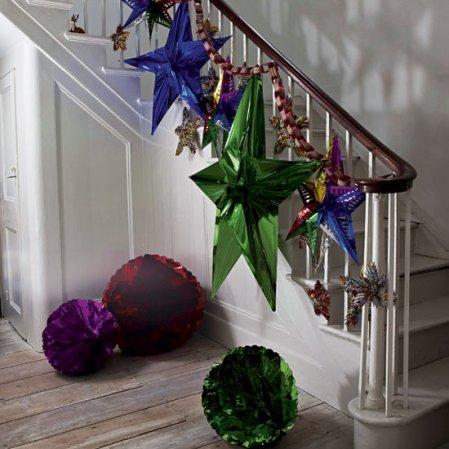 Budget Christmas | Christmas hallways | Christmas ideas | Livingetc | Roomenvy