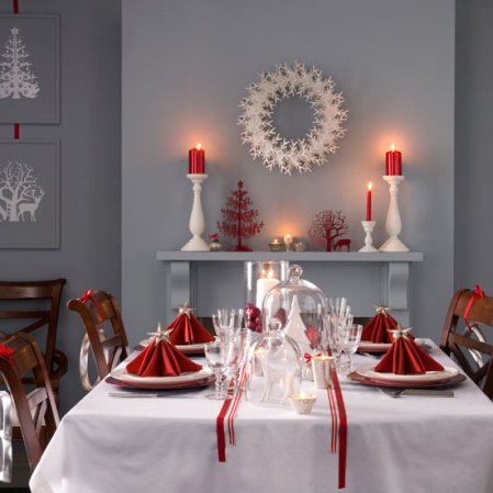 NAVIDAD 2011 Budget-christmas-dining-room-update-ideal-home-roomenvy