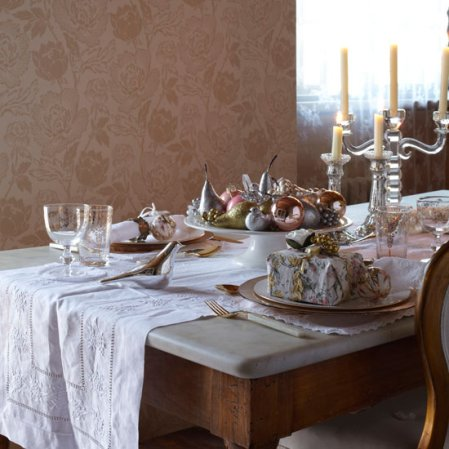 Christmas dining tables - formal | Country Homes & Interiors | Roomenvy