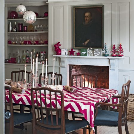 Modern country Christmas home | Dining room | Christmas ideas | Livingetc | Roomenvy
