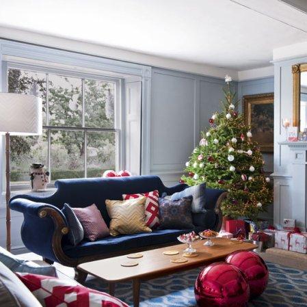 Modern country Christmas home | Living room | Christmas ideas | Livingetc | Roomenvy
