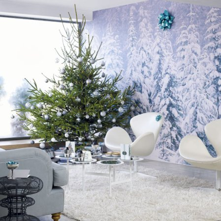 Snow | Christmas living room | Christmas ideas | Livingetc | Roomenvy