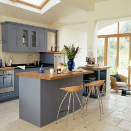Country-style kitchen extension   Modern country-style kitchen