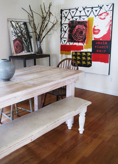 Warm wood dining room | dining rooms | housetohome | rooms I love