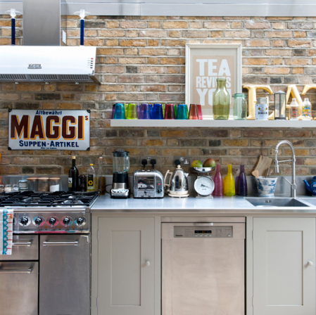 Modern rustic kitchen | pancake day | modern kitchen ideas | stainless steel appliances | roomenvy