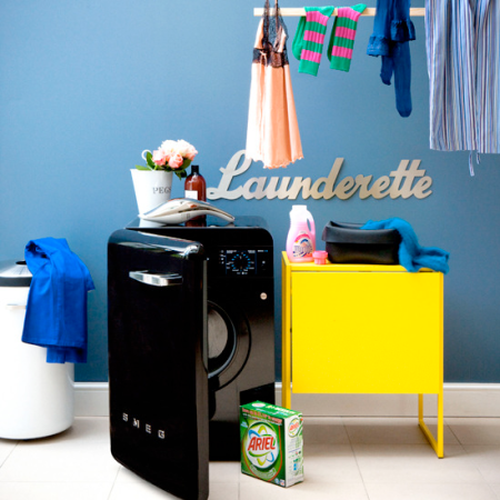 Bright and beautiful | modern utility room ideas | bright utility room ideas | roomenvy