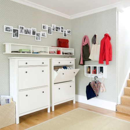 Hall Decorating Ideas on Hallway Storage Ideas  Hallways  Decorating Idea For Hallways